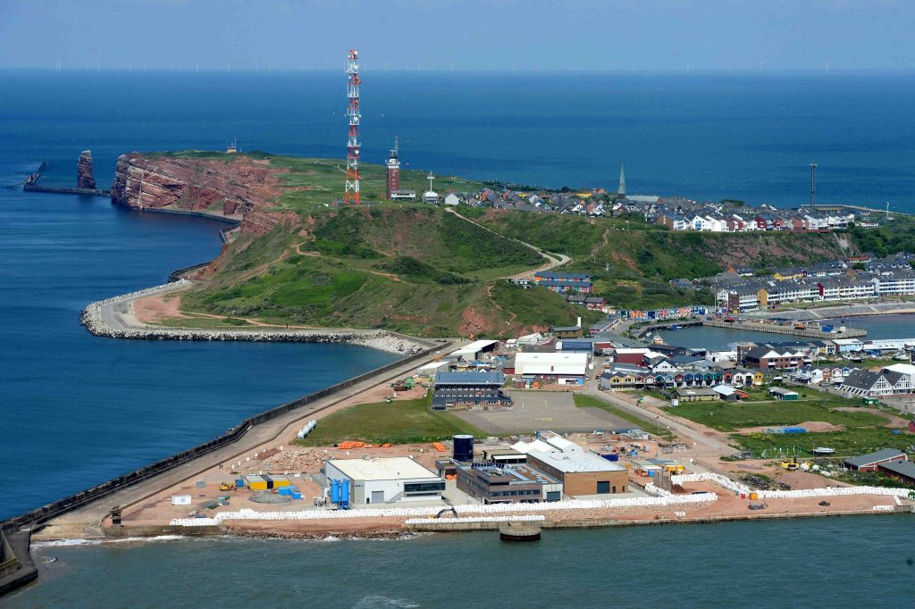 Offshore Servicehafen Helgoland